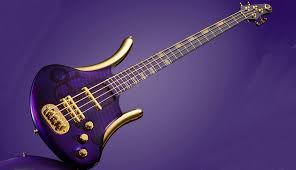 purple pictures this purple special bass is a stunning tribute to prince musicradar