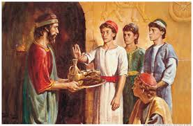 does the book of daniel and the bible promote being a vegetarian