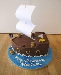 novelty pirate ship birthday cake celebration cakes the