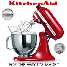 Stand Mixer Kitchenaid by Kitchenaid Artisan Stand Mixer 5ksm125ps Empire Red Cook