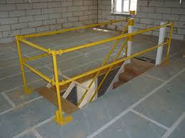 stair safety systems working at height fall prevention