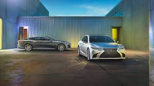 lexus vs toyota crown 2018 lexus ls versus the germans