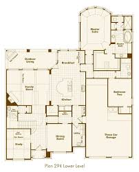 Texas Floor Plans by New Home Plan 294 In Prosper Tx 75078