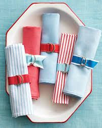 napkin ring ideas preppy napkin rings martha stewart