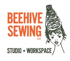 beehive sewing studio workspace u2013 the sewing machines tools