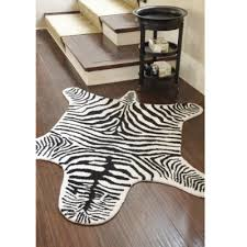 faux zebra hides the green tex