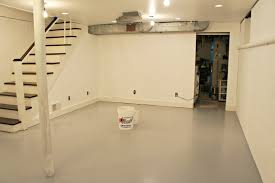 Epoxy Paint For Basement Floor by Seal Basement Floor Great Basement Paint Application With Seal