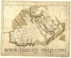 Map Of Charleston South Carolina Charleston South Carolina In The 1700 U0027s