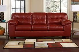 Fake Leather Sofa by Ashley 2010038 Bonded Leather Sofa Oc Furniture Warehouse