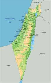 Isreal Map Map Israel
