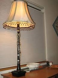 Zebra Print Table Lamp Clarinet Lamp By Lampstoreoriginals Lamps Pinterest Clarinets