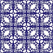italian traditional ornament floral pattern stock vector