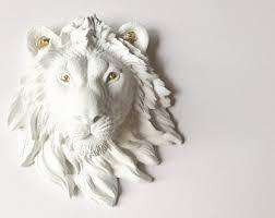 Lion Decor Home Lion Decor Etsy