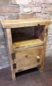 Woodworking Projects Bedside Table by Best 25 Handmade Bedside Tables Ideas On Pinterest King Size