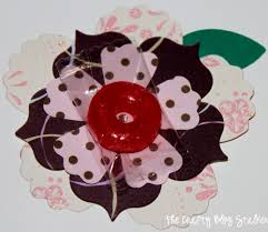 Valentine Flowers How To Make Paper Flower Candy Valentines The Crafty Blog Stalker