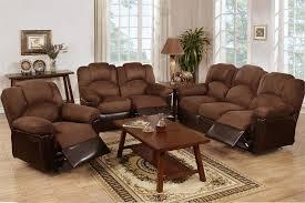 reclining sofa and loveseat set furniture 3 pcs sofa loveseat and chair set incredible on furniture