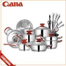 batterie de cuisine amc amc ustensiles de cuisine en acier inoxydable bon prix casserole