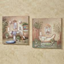 Vintage Powder Room Sign Bath Wall Accents Touch Of Class