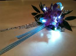 Where Can I Buy A Corsage And Boutonniere For Prom Made This Corsage To Glow In The Dark Prom Theme Was Glow In The