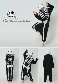 halloween onesie halloween costume skeleton onesie kigurumi pajamas