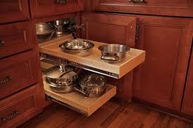Rolling Shelves For Kitchen Cabinets Blind Corner Cabinet Design Pull Out System Outofhome