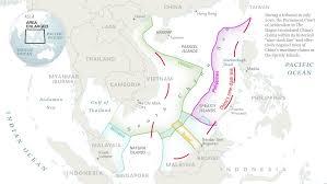 East China Sea Map The South China Sea Dispute Is Decimating Fish Stocks