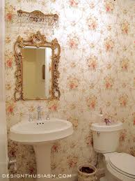 French Country Wallpaper by New Townhouse Tour