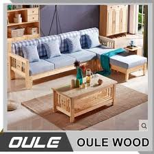 wooden corner sofa set modern simple corner wooden frame fabric sofa set designs buy