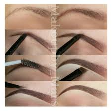 proper way to fill in eyebrows 1302 best eyebrows on point tutorials images on pinterest beauty