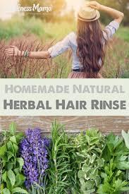 diy herbal hair rinse for shiny and strong hair wellness mama