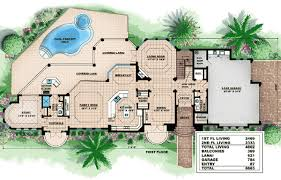 floor plans florida award winning exquisite house plan 66131we architectural