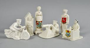 arcadian china a collection of world war i related crested china figures