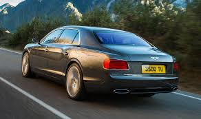 bentley flying spur 2015 bentley flying spur saloon review summary parkers