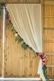 Wedding Backdrop And Stand Cool Backdrop We Could Use Something Else For Your Winter Wedding