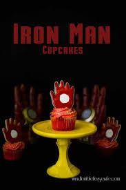 iron man cupcake tutorial horrible housewife