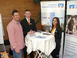 Volksbank Bad Neuenahr Berufsinfomesse U201eschule Trifft Wirtschaft U201c 2014