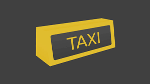 logo chevrolet 3d ready taxi logo 3d model