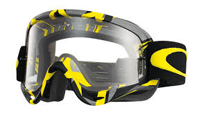 oakley goggles motocross oakley o frame mx intimidator gunmetal yellow clear buy cheap