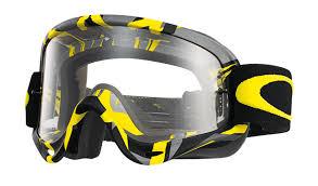 oakley motocross goggles oakley o frame mx intimidator gunmetal yellow clear buy cheap