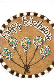 birthday cookie cake birthday boy 44 battered with cookie cake the gun
