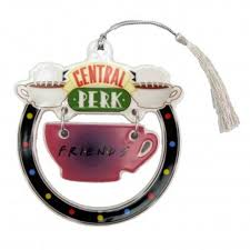 friends central perk cup dangle ornament detailed item