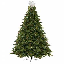 general electric 7 5 pre lit just cut spruce tree with 800