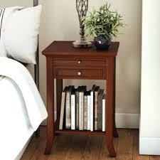 mahogany nightstands you u0027ll love wayfair