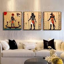 ancient egyptian home decor single sofa red shag area rug green