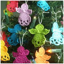 Christmas Angel Decorations Patterns by Christmas Angel Ornament Free Crochet Patterns