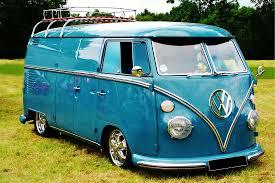 volkswagen thing blue motor home mayhem