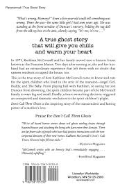 amazon com don u0027t call them ghosts the spirit children of