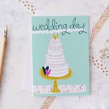 Wedding Day Greetings Wedding Day Greetings Card By Jessica Hogarth Designs