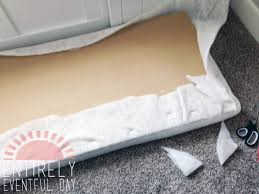 Making A Bench Cushion How To Make An Easy Diy Bench Cushion Entirely Eventful Day