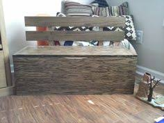 how to build a toy box bench fyi the picture is from a